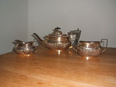 Old silver plated tea set