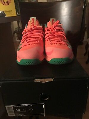 pretty nice bc920 fa4ff Nike Lebron 9 Low Watermelon Size 10