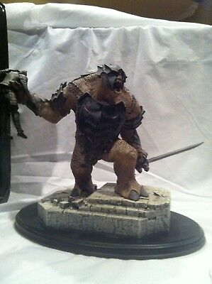 Lord of the Rings Battle Troll of Mordor Sideshow Weta Statue Return of the King