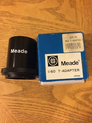 Meade #60 T-Adapter in very good condition