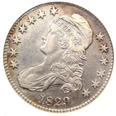 1829 Capped Bust Half Dollar 50C O-119 - ANACS XF45 Details (EF45) - Rare Coin!