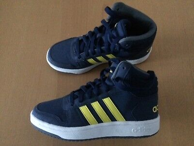 premium selection b35eb f7d62 Boys Adidas High Top Trainers , size UK 3.5, Excellent Condition
