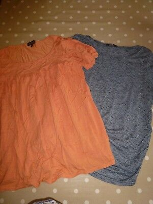 Womens Red Herring maternity and George maternity tops size 14