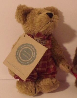 """6"""" Boyds Bears """"Samuel"""" Investment Collectables NWT"""