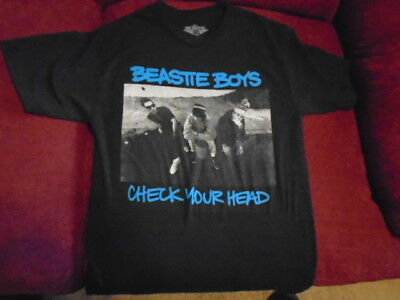 RARE Beastie Boys SHIRT small Check Your Head rap licensed MCA Mike D Ad Rock !