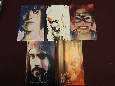 The Walking Dead 15th Anniversary Variant Lot of 5