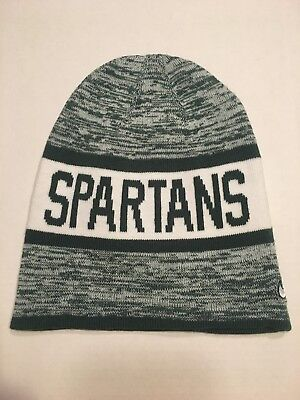 official photos 861bf ac1c1 Nike Michigan State Spartans College Reversible Beanie College NCAA New