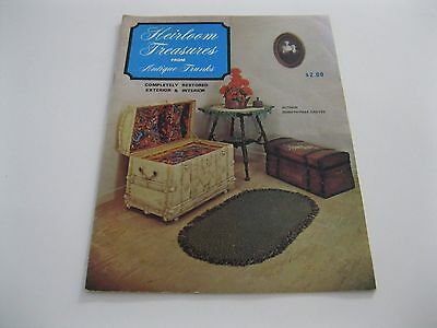 1969 HEIRLOOM TREASURES from ANTIQUE TRUNKS by Dorothymae Groves