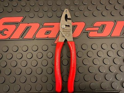 "New! Snap-on 8"" Red Hose Clamp pliers HCP48ACF"