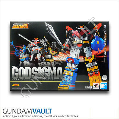 NEW Soul of Chogokin GX-60R Godsigma Action Figure Bandai US Seller
