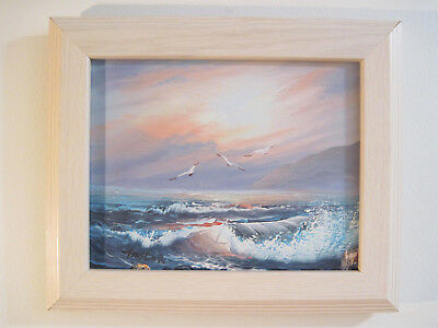 Original Made to Order Ocean Sunrise Oil Painting signed by artist J Doyle