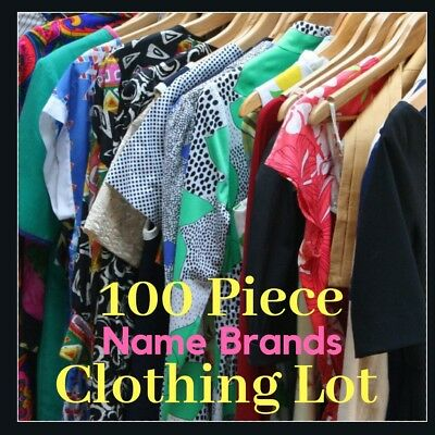 Reseller Lot Womens Clothing 100 Pieces Mixed Items wholesale liquidation
