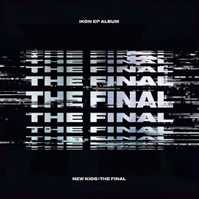[iKON] ALBUM [NEW KIDS : THE FINAL] Black CD+Poster+PhotoBook+M.Book+Card