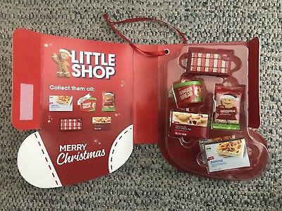 BRAND NEW COLES Little Shop Christmas Edition Minis Complete Set In Case