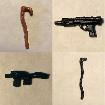 Vintage Star Wars Figure Replacement Weapons & Accessories (115 var.)