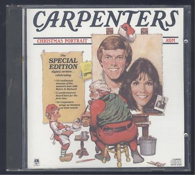 Christmas Portrait by The Carpenters (CD, Oct-1990, A&M (USA))