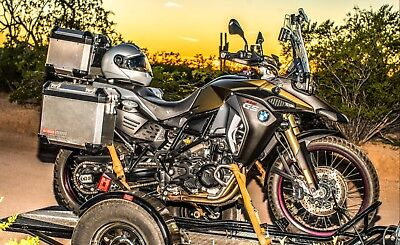 2015 BMW F-Series  2015 BMW F800GS ADVENTURE Dual-Sport Motorcycle w/ Lots of Extras