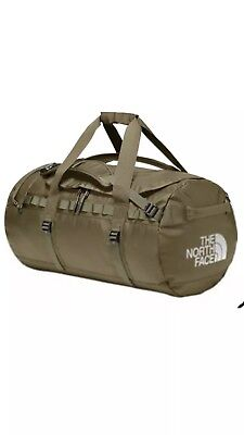 The North Face Base Camp Duffel Medium 71L Olive Green Brand New Unused 139 NWT