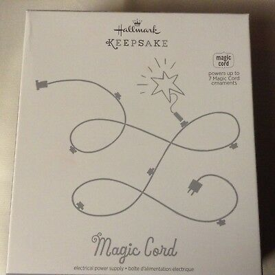 2011  Hallmark Wonder and Light Magic Cord Powers up to 7 Ornaments