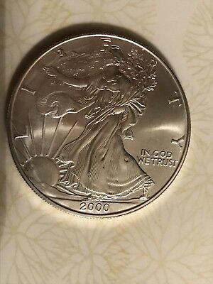 Roll of twenty (20)  $1 American Silver Eagle Brilliant Uncirculated.