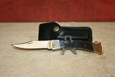 Buck Knife Model 110 Vntage 1970/1'  Mint Condition  With Original Sheath