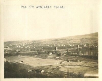 Athletic Field, American Forces Germany, Coblenz, Germany c1920 Photo
