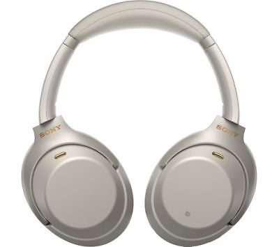 Sony WH-1000XM3 Wireless Over-Ear Headphones Silver cancellazione di rumore IT*1