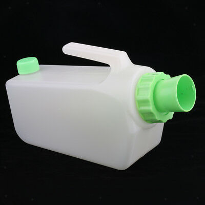 Travel Plastic Reusable Male Bed Pee Urinal Bottle Incontinence Pe Urine Can