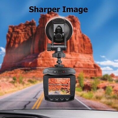 Sharper Image 270 Degree HD Dashboard Camera- Great Gift!- In Time For Holidays!