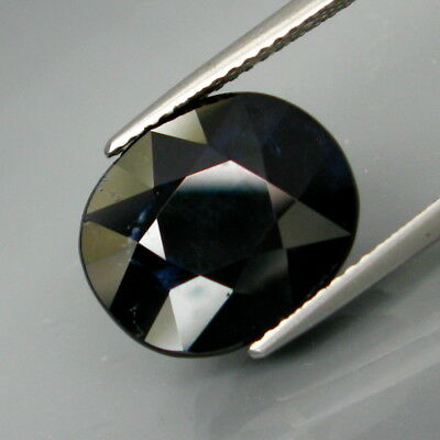 9.14Ct.Awesome! Natural BIG Midnight Blue Normal Heated Sapphire Africa