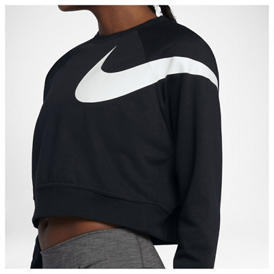 NEW Nike Womens Dri-Fit Versa Graphic Crop Top
