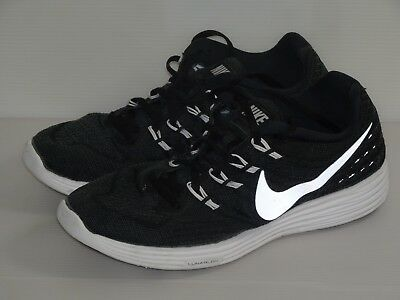 competitive price 620fb 2ad95 Men s Nike LunarTempo 2 Running Shoes Size 9.5 Black White Lunarlon  818097-002