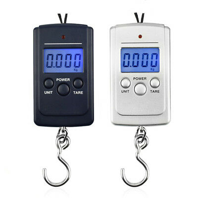 40Kg Mini Portable Weighing Digital LCD Hanging Luggage Weight Scale Hot