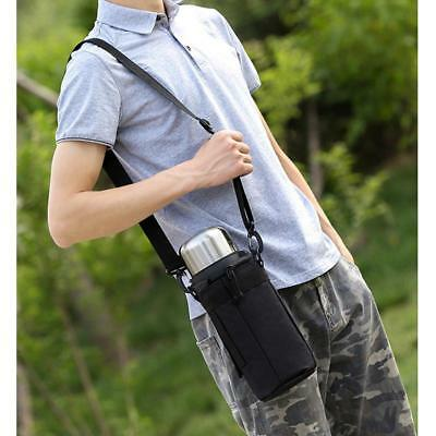 Water Bottle Carrier Insulated Cover Bag Holder Strap Pouch Sport Outdoor T