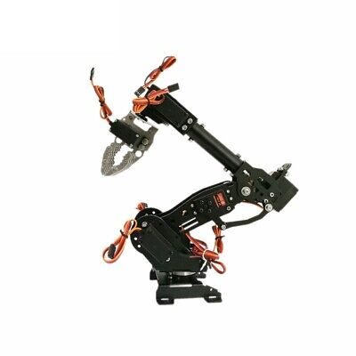 S8 8 DoF Stainless Steel Metal Robot Arm/hand Robotic Arm Model Claw no servo