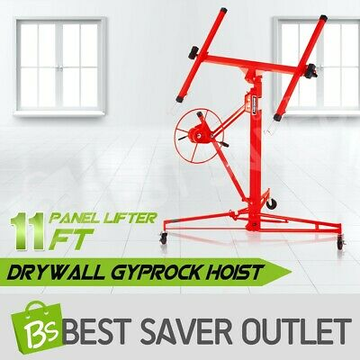 11FT 65KG Drywall Gyprock Sheet Panel Lifter Plasterboard Hoist Plaster Board