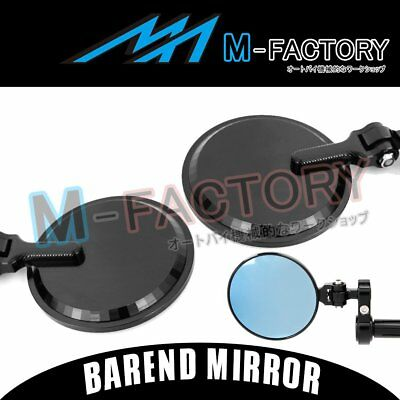 Fit Ducati MONSTER 1100 S/EVO 09-14 CNC Rearview Diamond XP Bar End Mirrors BK