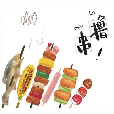 30pcs/Pack Different shape food Bookmark Message card Office School Stationery