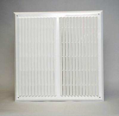 "Air Vent Grille 450mm x 450mm with Fly Screen / 18"" x 18"" Wall Ventilation Cover"