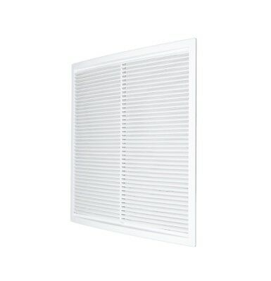 Air Vent Grille 340mm x 340mm with Fly Screen Wall Ducting Cover Grid