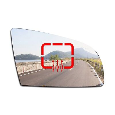Right Side Clip On Heated Mirror Glass for Audi A6 C6 2008-2011 0267RSHP