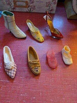 11 Just the right show and others, miniature shoe lot!