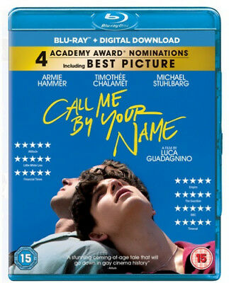 Call Me By Your Name [Region B] [Blu-ray] - DVD - New - Free Shipping.