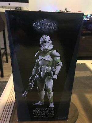 Star Wars Sideshow 442nd Siege Battalion Clone Trooper Militaries of Star Wars