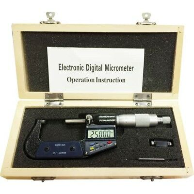 Digital External Micrometer 25-50mm/1-2 - Free Delivery - New - BDM1050