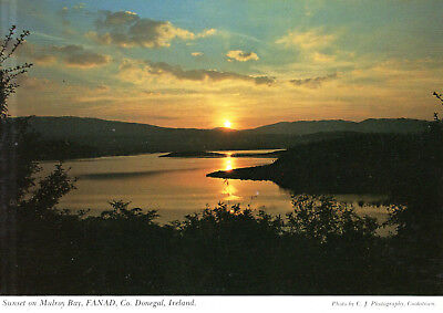 Ireland  -  Fanad Peninsula - Sunset on Mulroy Bay