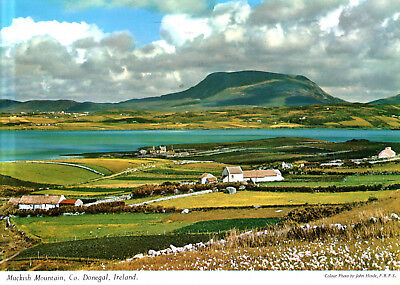 Ireland  -  Falcarragh - Muckish Mountatn - nearest point from which to climb