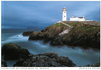 Ireland  -  Portsalon - Arryheernabin - Fansd Head Lighthouse  -  ca.1995