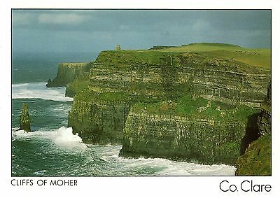Ireland  -  Liscannor - Cliffs of Moher - one of the outstanding features - 1998