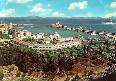 Greece - Rhodes - Rhodes City - View of the New Market - Harbor entrance  - 1973